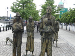 Caption: Famine Memorial Dublin, Ireland