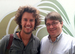 Caption: Blake Mycoskie with Eric J. Lawrence