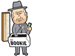 Caption: Mr. Bookie