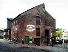 Caption: Bonded Warehouse