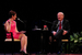 Caption: Virginia Prescott and Chris Matthews, Credit: David Murray