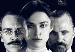 Caption: Michael Fassbender, Keira Knightley, Viggo Morgensen in 'A Dangerous Method'