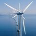 Caption: Offshore wind farm, Denmark.