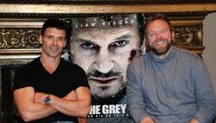 Caption: Frank Grillo &amp; Joe Carnahan, San Francisco, CA  1/9/12, Credit: Andrea Chase