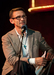 Caption: Famed Author Chuck Palahniuk, Credit: Jennie Baker for Live Wire!