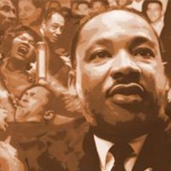 Caption: Dr. Martin Luther King, Jr.: A Beautiful Symphony of Brotherhood
