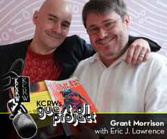 Caption: Grant Morrison and Eric J Lawrence