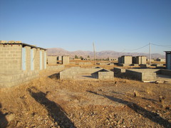 Caption: An abandoned IDP camp in Iraqi Kurdistan near the border with Iran., Credit: Rachel Stacy