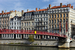Caption: Lyon, Red Bridge
