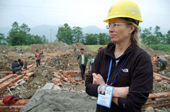 Caption: Dr. Elizabeth Hausler, Credit: Dowser.org