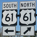 "Caption: South or north, Highway 61 is America's ""Blues Highway."""