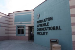 Caption: Pendleton Juvenile Correctional Facility, Pendleton, IN, Credit: Andy Yang and Priya Mirmira