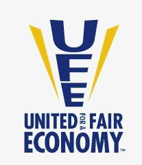 Caption: United for a Fair Economy, Credit: Logo