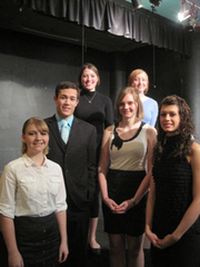 Caption: Poetry Out Loud Participants, Credit: Patty Polasky