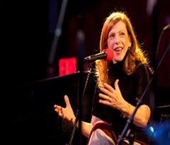 Caption: Best-Selling Author Susan Orlean, Credit: Jennie Baker for Live Wire!