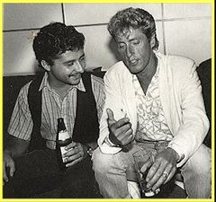 Caption: Joe Duley and Roger Daltry