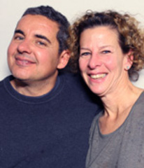 Caption: Marco Ferreira and his wife Wendy Tucker