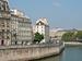 Caption: Paris, along a quay of the Seine