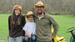 Caption: Owners of Herbal Turtle Farms: Kate Foerster with partner Bryan Crigler and son Ayden