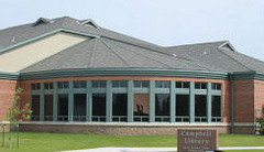 Caption: Campbell Public Library of East Grand Forks, Minnesota