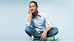 Caption: Tony Hsieh, Credit: Jake Chessum