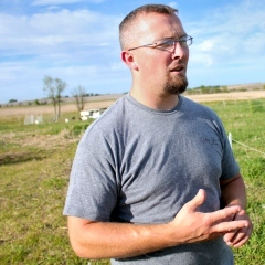 Caption: William Powers family owns Dary Springs Farm near Lincoln, Neb. , Credit: Jessica Naudziunas/Harvest Public Media
