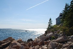 Caption: Summer on the Maine coast, Credit: L. Sponsler