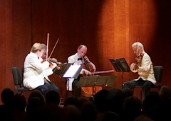 Caption: Norfolk Chamber Music Festival performers