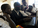Caption: Denis Komakech, 17, a blind student, uses his laptop at Gulu High School, northern Uganda, an inclusive school with a special needs annex for children who are blind., Credit:  UNICEF/UGDA2012-00127/Sibiloni