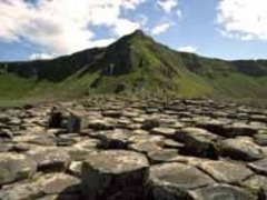 Caption: The Giant's Causeway, Co. Antrim