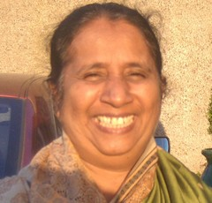 Caption: Mariamma Thampy, New India church of God, Credit: Raymond McCullough