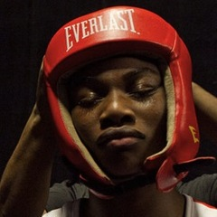 Caption: Claressa Shields at the Olympic Trials. , Credit: Sue Jaye Johnson
