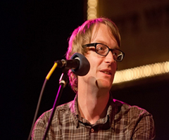 Caption: Acclaimed Author Patrick deWitt, Credit: Jennie Baker for Live Wire!