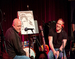 Caption: Comic book writer Brian Michael Bendis & Illustrator Mike Oeming, Credit: Jennie Baker for Live Wire!