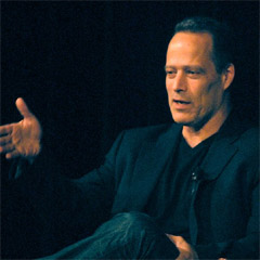 Caption: Journalist, author and filmmaker Sebastian Junger, Credit: John Russell
