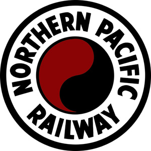 Caption: The Northern Pacific Railway