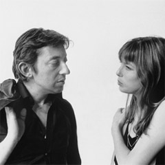 Caption: Serge Gainsbourg and Jane Birkin