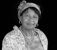 Caption: Jamaica Kincaid