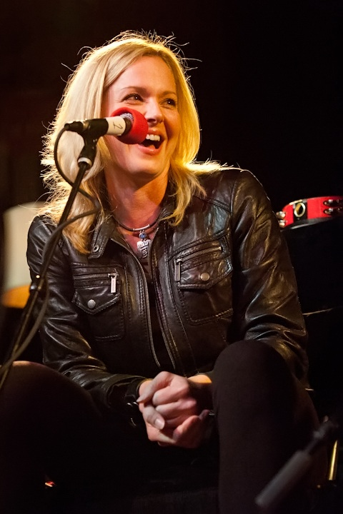 Caption: Singer/Songwriter/Author Storm Large, Credit: Jennie Baker for Live Wire!