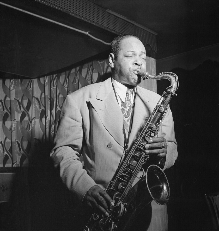Caption: Coleman Hawkins