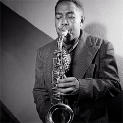Caption: The king of bebop, Charlie Parker