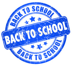 Caption: Back to School stamp, Credit: iStock photo