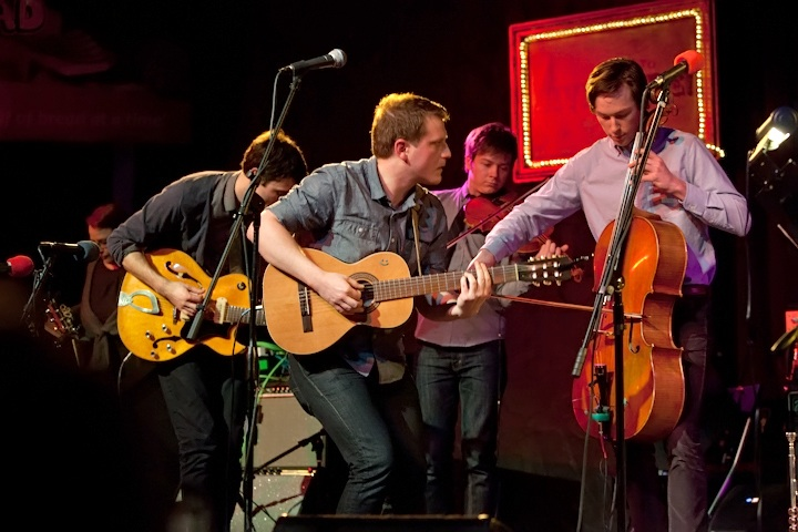 Caption: Hey Marseilles Indie Folk Band, Credit: Jennie Baker for Live Wire!