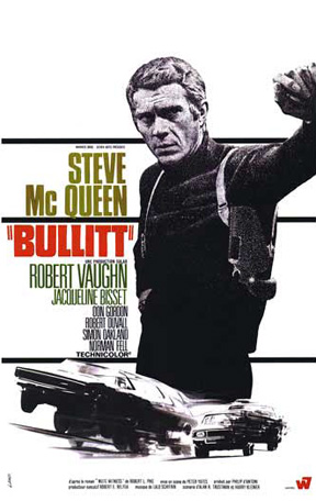 Caption: Bullitt poster