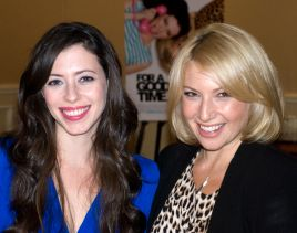 Caption: Lauren Miller & Ari Graynor, San Francisco, CA, 8/14/12, Credit: Andrea Chase