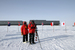 Caption: Brad Herried capturing Google Street View imagery at the South Pole November 2011., Credit: courtesy Polar Geospatial Center