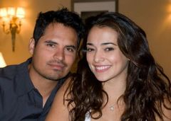 Caption: Michael Pena & Natalie Martinez, San Francisco, CA 8/28/12, Credit: Andrea Chase