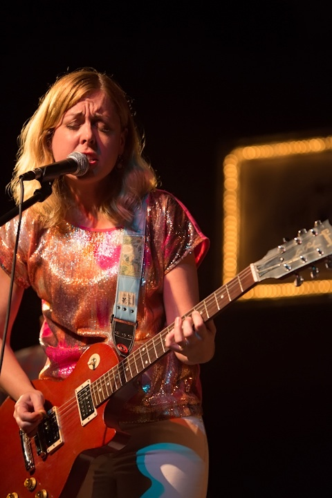 Caption: Corin Tucker of Corin Tucker Band, Credit: Jennie Baker for Live Wire!