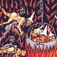 Caption: Painting of Hell