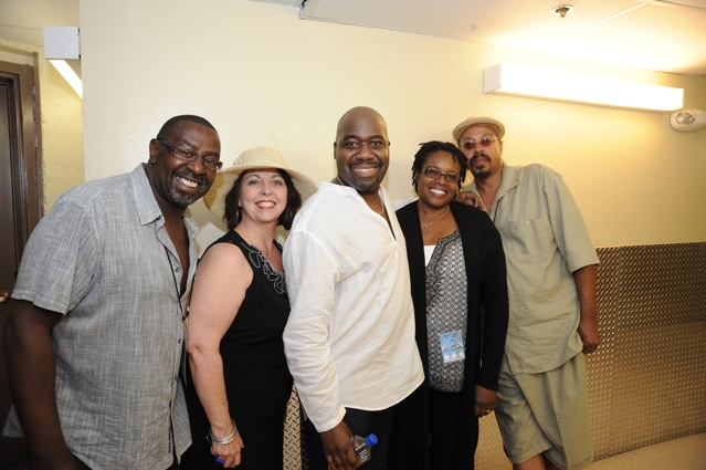 Caption: Will Downing & Friends, Credit: Steve Edwards